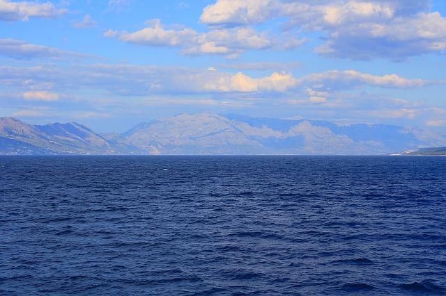 moře u Chorvatska