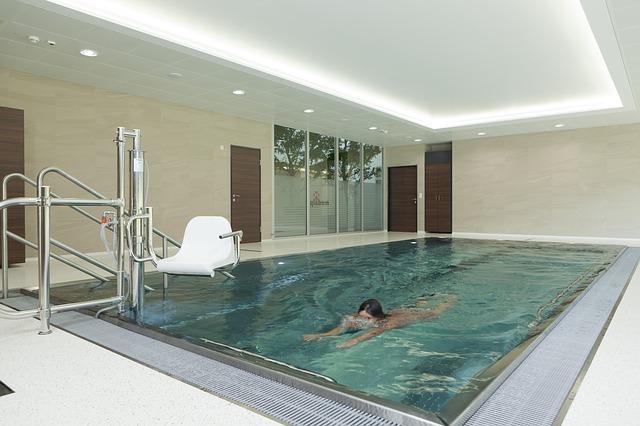 bezbariérový bazén